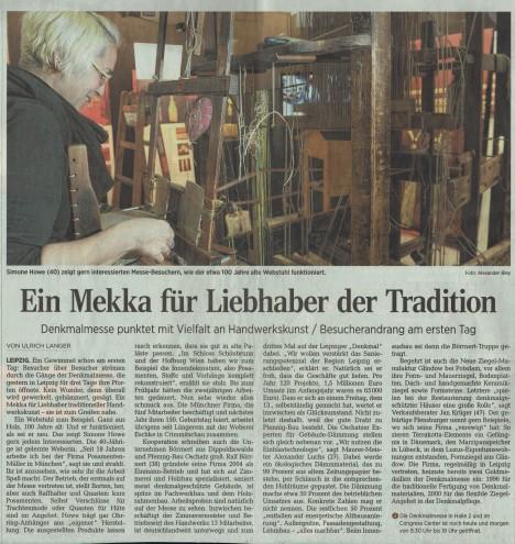 Leipziger Volkszeitung 07/11/2014